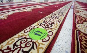 عکس/ فاصله گذاری اجتماعی در مساجد عربستان