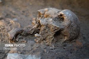 کشف اسکلت دوره اشکانی در اصفهان
