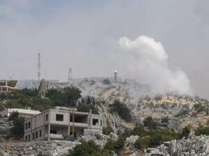 بیانیه حزبالله درباره درگیری در مرز لبنان و فلسطین/ اخبار تأییدنشده از هدف قرار گرفتن تانک صهیونیستها  +فیلم و عکس