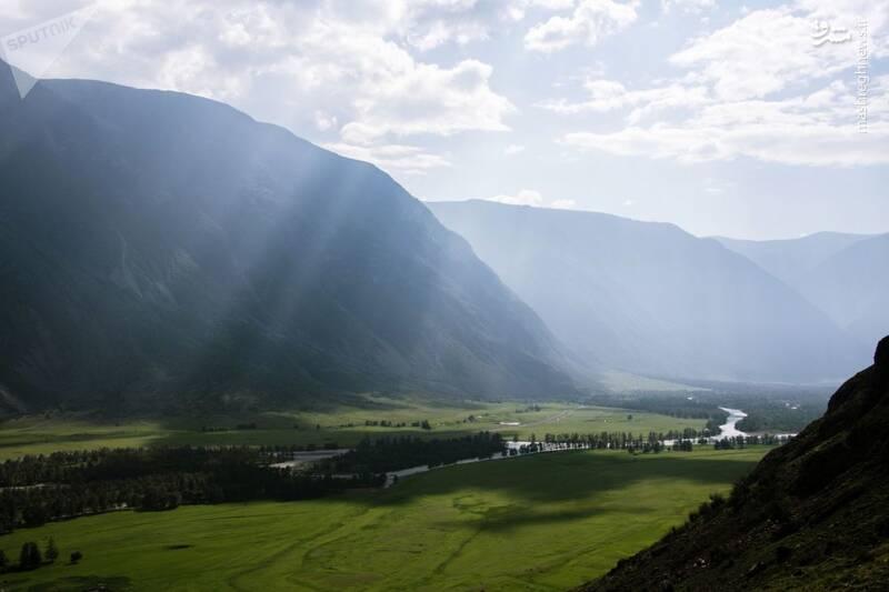 2865203 - عکس/ زیبایی کوههای آلتای در روسیه