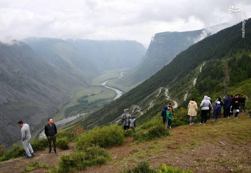 2865209 - عکس/ زیبایی کوههای آلتای در روسیه