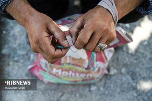 عکس/ درد بیکاری بر قامت کارگران فصلی