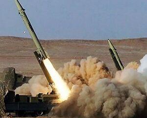 تمرین دفاع ضدموشکی بالستیک و کروز در رزمایش سپاه/ استفاده از موشک بالستیک دریایی برد بلند