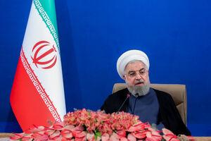 فیلم/ واکنش روحانی به تهدید هواپیمای مسافربری ایرانی