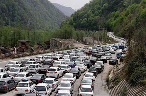 ترافیک فوق سنگین در هراز و فیروزکوه