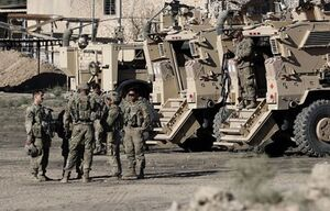 پایگاه نظامیان آمریکا