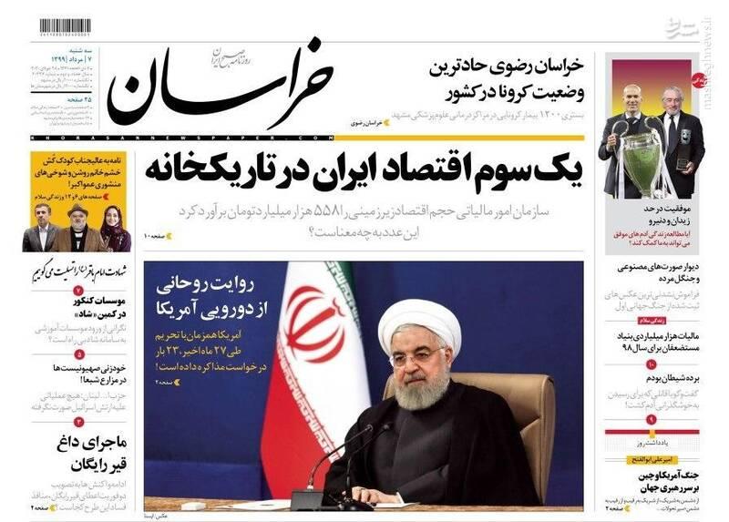 خراسان: یک سوم اقتصاد ایران در تاریکخانه