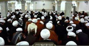اساتید و طلاب حوزه علمیه نجف اهانت به آیت الله شهید محمد باقر صدر را محکوم کردند