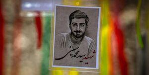 جهادگری که قبل از پیوستن به مدافعان حرم شهید شد +عکس