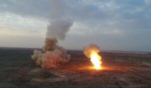 شلیک موشکهای سپاه از اعماق زمین/ حملات گسترده موشکی و پهپادی علیه اهداف در خلیجفارس/ رصد پایگاه آمریکایی در قطر با ماهواره نور +عکس و فیلم