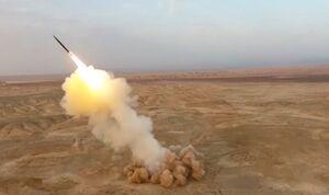 شلیک موشک سپاه