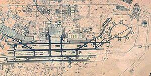 پایگاه هوایی «العدید» با «ماهواره نور» رصد شد +عکس