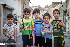 عکس/ تابستان کودکانه با کرونا