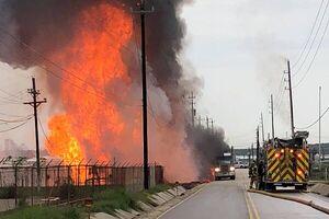 وقوع انفجار مهیب در تاسیسات گاز طبیعی ایالت تگزاس آمریکا