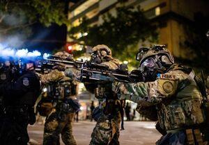 شرط نیروهای امنیتی آمریکا برای آزادی بازداشت شدگان در اعتراضات