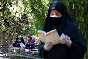 عکس/ قرائت دعای عرفه در دانشگاه تهران