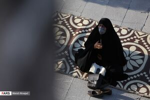 عکس/ قرائت دعای عرفه در مسجدالنبی قزوین