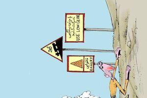 کاریکاتور/ شیب ملایم قیمت کالاهای اساسی!