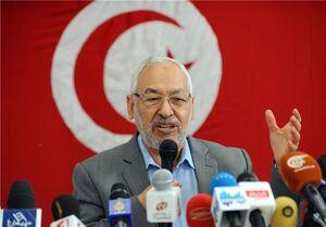 راشد الغنوشی: از نخست وزیر جدید تونس حمایت میکنیم / دموکراسی در تونس پیروز شد
