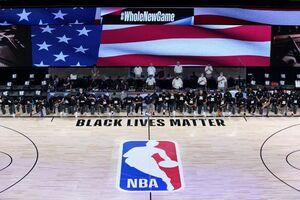 بازگشت NBA با یک تصویر تاریخی