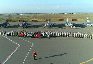 ورود جنگندههای ترکیه به جمهوری آذربایجان