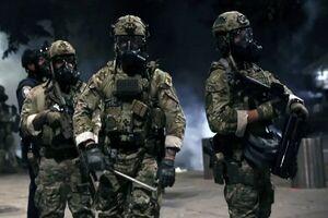 پلیس فدرال آمریکا تا بازگشت آرامش در پورتلند میماند