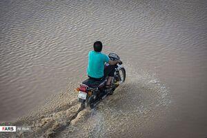 سیلاب و انسداد جاده مشهد- تهران