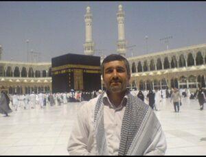 عکس/ سردار حاجیزاده در صحن مسجدالحرام
