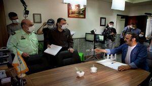 انتشار اولین تصاویر از سریال دهنمکی