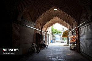 عکس/ کسادی بازار ارومیه در دوران کرونا