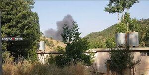 حمله هوایی ترکیه به منطقه نزدیک «دهوک» عراق