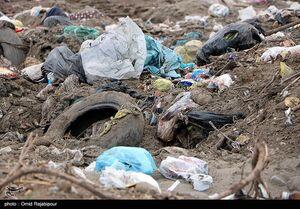 عکس/ همنشینی زباله و ساحل در گیلان
