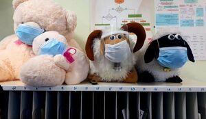 دکور جالب بخش کودکان یک بیمارستان +عکس