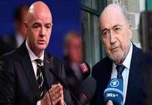 حمله بلاتر به رئیس فیفا