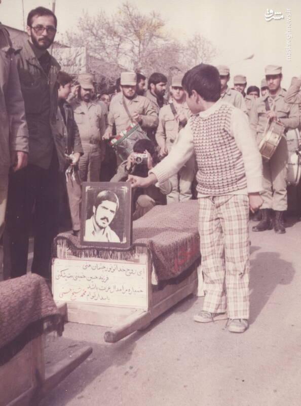 تشییع پیکرشهید محمدحسین شیخحسنی