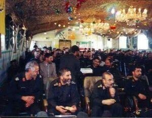 تصویر دیده نشده از سردار سلامی و شهید کاظمی
