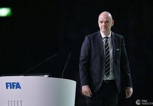 فیفا: اینفانتینو همچنان رئیس فیفا است