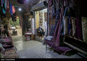 عکس/ کسادی بازار سنتی کرمانشاه بر اثر شیوع کرونا