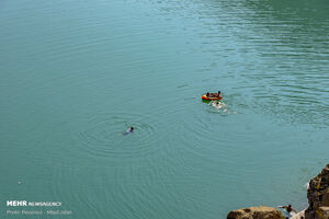 عکس/ بیرحمی رودخانه کرج