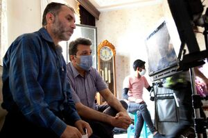 مسعود دهنمکی پای چوبهدار +فیلم