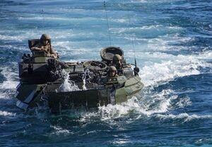 تایید مرگ ۹ تفنگدار دریایی آمریکا در حادثه زرهپوش آبی-خاکی