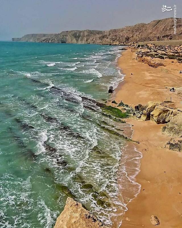 2871955 - عکس/ ساحل زیبای عسلویه