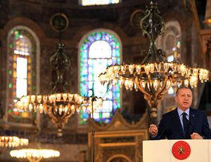 اهداف اردوغان از تغییر کاربری ایاصوفیه چیست؟ +عکس