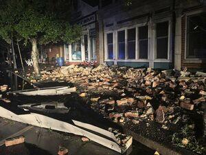 عکس/ خسارت طوفان در کارولینای شمالی