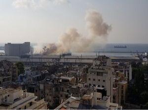 انفجار در بیروت لبنان