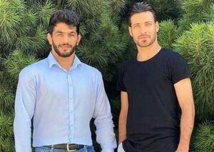 حسن یزدانی و حسینی در تمرین پرسپولیس