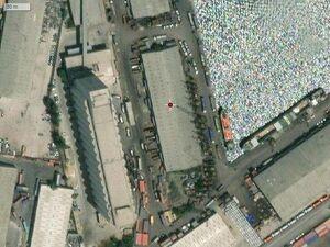 وقعیت دقیق محل بروز انفجار در بندر بیروت