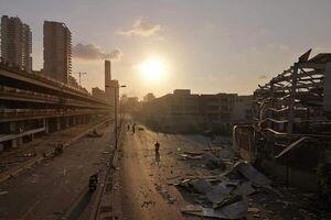 عکس/ قبل و بعد از انفجار در بندر بیروت