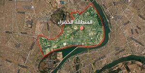 برخورد یک راکت به نزدیکی سفارت آمریکا در بغداد