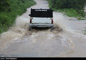وقوع سیلاب تابستانی در آذربایجان شرقی +فیلم